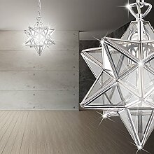 MIA Light Design Hängeleuchte in Sternform aus