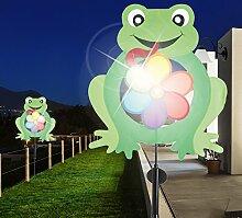 MIA Light Frosch Solar Erdspieß Leuchte ↥850mm/