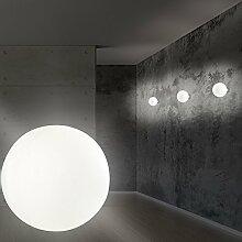 MIA Light Glas Kugel Wand Modern/Weiß/Lampe