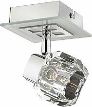 MIA Light Glas Würfel Wand Modern/Weiß/ Leuchte