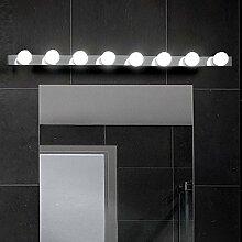 MIA Light Hollywood Hollywood Design/ Chrom/ Wand Badezimmerlampe Badezimmerleuchte Badlampe Badleuchte Spiegellampe Spiegelleuchte