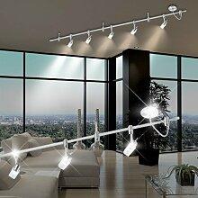 MIA Light HV - 1 Phasen ↔2000mm/ Silber/Strahler