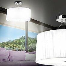 MIA Light Klassische Deckenleuchte mit Stoffschirm