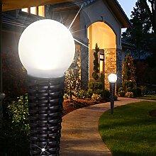 MIA Light Kugel Solar Erdspieß Leuchte ↥538mm/