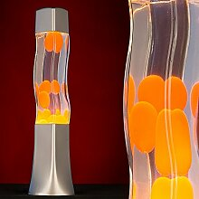 MIA Light Lava ↥415mm/ Kinder/ Retro/ Orange/ Lampe Lavalampe Lavaleuchte Magmalampe Magmaleuchte