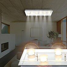 MIA Light LED Decken Chrom/ Lampe Badezimmerlampe Badezimmerleuchte Badlampe Badleuchte Deckenlampe Deckenleuchte