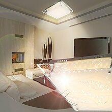 MIA Light LED Deckenleuchte aus Glas in chrom und