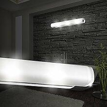 MIA Light Modern Spiegel Weiß/ Wand Badezimmerlampe Badezimmerleuchte Badlampe Badleuchte Spiegellampe Spiegelleuchte