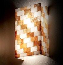 MIA Light Moderne Wandleuchte aus Glas alabaster