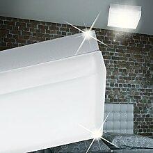 MIA Light Quadratische LED Wandleuchte aus Glas in