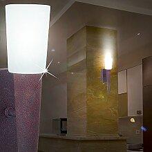 MIA Light Rustikale Wandfackel Landhaus aus Glas