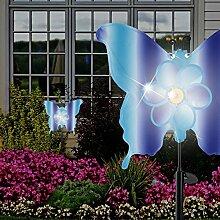 MIA Light Schmetterling Solar Erdspieß Leuchte