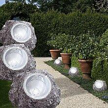 MIA Light Stein Solar Leuchte Ø165mm/