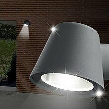 MIA Light Strahler Wand Leuchte AUSSEN Ø115mm/