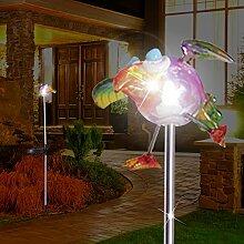 MIA Light Vogel Solar Erdspieß Leuchte ↥1100mm/
