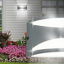 MIA Light Wand Leuchte AUSSEN Ø250mm/ Anthrazit/ Alu/ Lampe Aussenlampe Aussenleuchte Wandlampe Wandleuchte