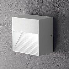 MIA Light Wand Leuchte AUSSEN Design/ Weiß/ Metall/ Lampe Aussenlampe Aussenleuchte Wandlampe Wandleuchte