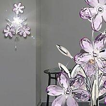 MIA Light Wandleuchte mit Blumen aus