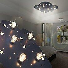 MIA Light Wolke Decken Leuchte LED/ Blau/ Lampe