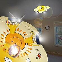 MIA Light Wolke Decken Strahler Kinder/Gelb/Lampe