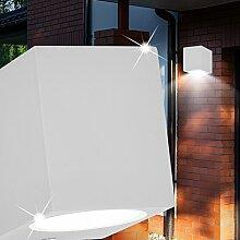 MIA Light Würfel Wand Leuchte AUSSEN