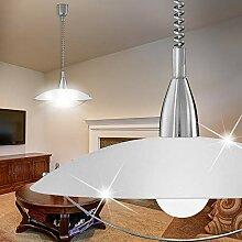MIA Light Zug Hänge Leuchte Ø500mm/ Weiß/Glas/