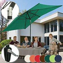 MIADOMODO Sonnenschirm 3 x 2 m I Rechteckig,