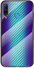 Miagon Glas Handyhülle für Huawei P Smart