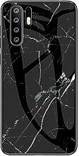 Miagon Glas Handyhülle für Huawei P30 Pro,Marmor