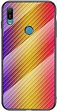 Miagon Glas Handyhülle für Huawei Y6