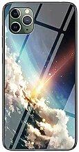 Miagon Glas Handyhülle für iPhone 11,Himmel