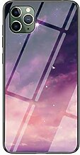 Miagon Glas Handyhülle für iPhone 11 Pro,Himmel