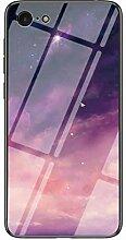 Miagon Glas Handyhülle für iPhone 6 Plus/6S