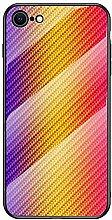 Miagon Glas Handyhülle für iPhone SE
