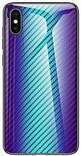Miagon Glas Handyhülle für iPhone XS