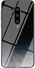 Miagon Glas Handyhülle für OnePlus 8 Pro,Himmel