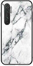 Miagon Glas Handyhülle für Xiaomi Mi Note 10