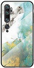 Miagon Glas Handyhülle für Xiaomi Mi Note