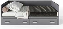 Miami Tagesbett mit 2 Schubladen, inkl Lattenrost,