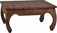 MiaMöbel Couchtisch Colombo 80x80 cm Kolonialstil
