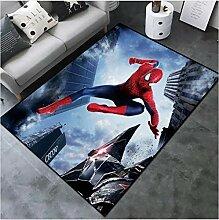 Mianbao Teppich Spiderman Wohnzimmer Zimmer Marvel