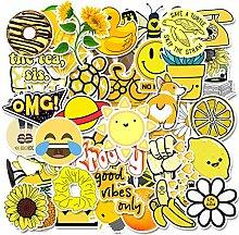 MIANRUII 50 Stücke Gelb Niedlichen Cartoon