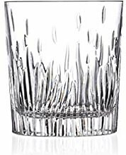 MIAO. Flammenkristallglas Whiskyglas,