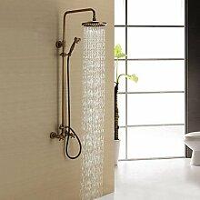 miaoge Antik Messing Dusche Wasserhahn mit