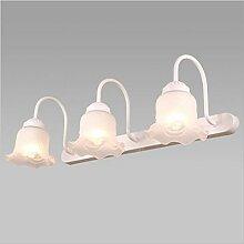 Miaoge Continental Spiegel vordere Lampe LED Licht WC Waschbecken Eitelkeit American Kreativität Persönlichkeit Eitelkeit Bad Licht warmes Licht 460mm 5W