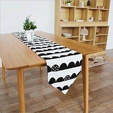 Miaoge Kreativ Nordic Schwarz und Weiß Farbe