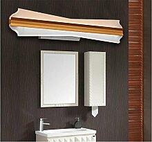 Miaoge LED Spiegelleuchten modern minimalistisch Kommode Patch Eisen Spiegelleuchten Qualität Spiegel-Kabinett-Licht Weiß 400mm 12W