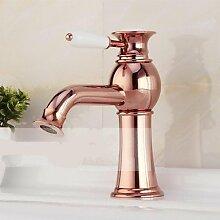 miaoge Luxus europäischen Stil Rose Gold Ein Loch