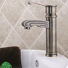 miaoge Messing antik Waschbecken Wasserhähne