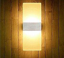 Miaoge Modern minimalistisch LED Acryl Engineering Hotel Wohnzimmer Schlafzimmer Bad Spiegel vorderen Leuchten 29*11cm 6W